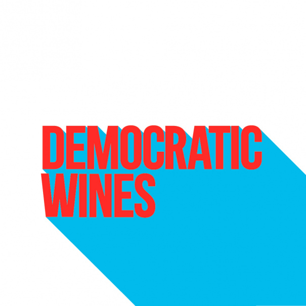Logotipo de Democratic wines